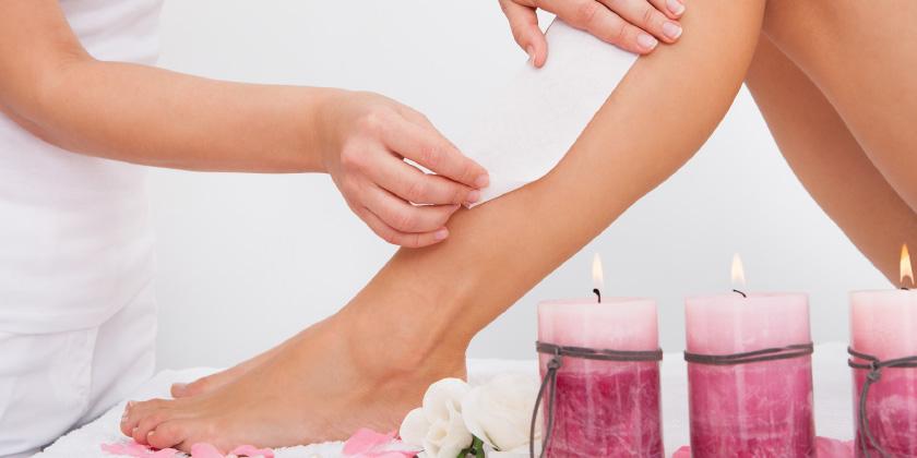 Preparare epilatore epilazione pelle