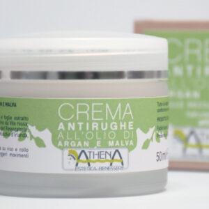 Athena Estetica, Crema antirughe all'olio di Argan e malva