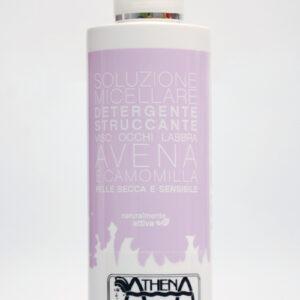 Athena Estetica, detergente struccante avena e camomilla